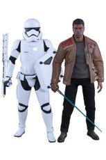 Star Wars Episode VII MMS Akční Figure 2-Pack 1/6 Finn & First Order Riot Control Stormtrooper