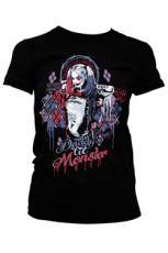 Suicide Squad Dámské Tričko Harley Quinn Velikost XL