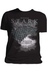 Game of Thrones Tričko Stark Houses Velikost XL