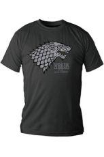 Game of Thrones Tričko Stark Velikost L