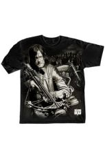 The Walking Dead Tričko Dixon Crossbow Ready Velikost L