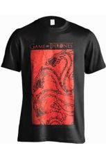 Game of Thrones Tričko Targaryen Red Velikost M