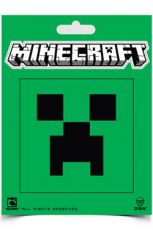 Minecraft Nálepka Creeper Face