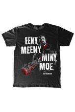 The Walking Dead Tričko Eeny, Meeny, Miny, Moe Velikost L