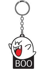 Nintendo Gumový Keychain Boo 6 cm