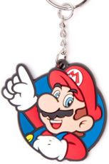 Nintendo Gumový Keychain Mario, Its Me! 6 cm
