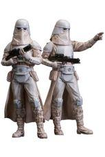 Star Wars ARTFX+ Soška 2-Pack Snowtrooper 18 cm