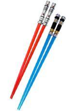 Star Wars Jídelní hůlky Darth Maul & Obi-Wan Kenobi Lightsaber Jídelní hůlky Battle 2-Set