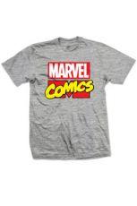 Marvel Comics Tričko Logo Velikost M