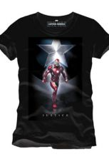 Captain America Civil War Tričko Justice Velikost XL