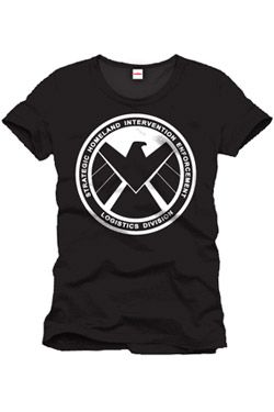 Captain America Tričko Shield Emblem Velikost M