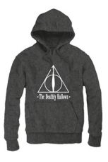 Harry Potter Hooded Mikina The Deathly Hallows Velikost M