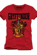 Harry Potter Tričko Nebelvír Crest Velikost L