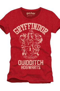 Harry Potter Tričko Nebelvír Quidditch Velikost L CODI