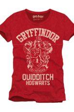 Harry Potter Tričko Nebelvír Quidditch Velikost S