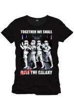 Star Wars Tričko Rave The Galaxy Velikost L