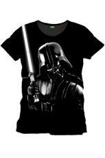 Star Wars Tričko Silver Darth Vader Velikost M