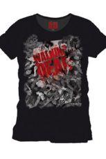 Walking Dead Tričko Zombie Herd Velikost S