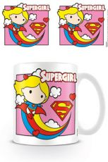 Justice League Hrnek Chibi Supergirl Pink