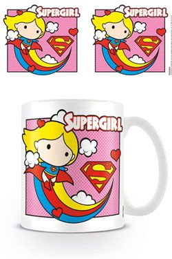 Justice League Hrnek Chibi Supergirl Pink Pyramid International
