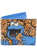 Sesame Street Peněženka Cookie Monster Full Co