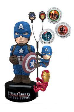 Captain America Civil War Dárkový Set Captain America Limited Edition