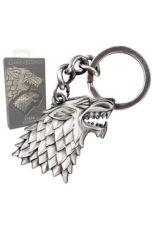 Game of Thrones Metal Keychain Stark Sigil
