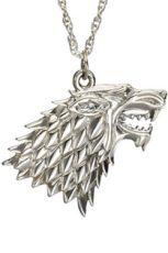 Game of Thrones Přívěsek & Náhrdelník Stark Sigil (Sterling Silver)