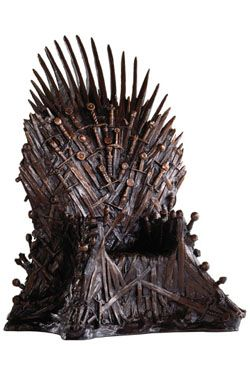 Game of Thrones Soška Bronze Iron Throne 36 cm Noble Collection