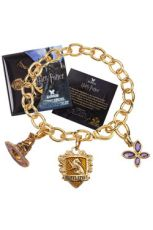 Harry Potter Talisman Náramek Lumos Mrzimor (gold plated)