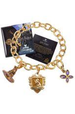 Harry Potter Talisman Náramek Lumos Mrzimor (gold plated)