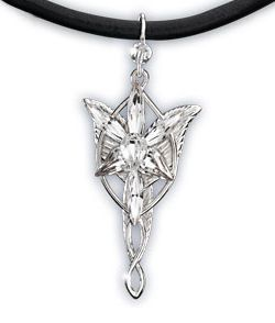 Lord of the Rings Přívěsek Mini Evenstar (Sterling Silver)