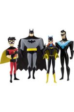 The New Batman Adventures Ohebná Figurky 4-Pack Masked Heroes 14 cm