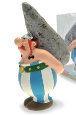Asterix Bysta Pokladnička Obelix On Menhir 18 cm