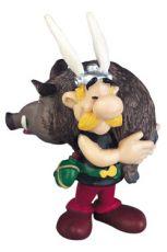 Asterix Figure Asterix holding a Boar 6 cm