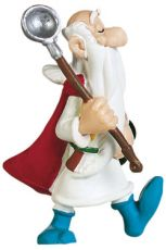 Asterix Figure Getafix with the pot 8 cm