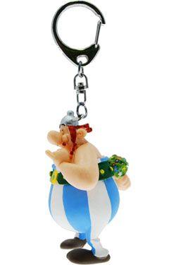 Asterix Keychain Obelix with Flowers 13 cm Plastoy
