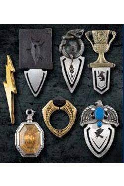 Harry Potter Záložky do knih 7er Set The Horcrux Kolekce Noble Collection