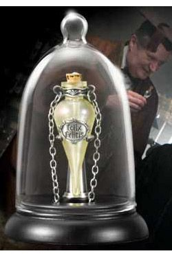 Harry Potter Felix Felicis Přívěsek and Display Noble Collection