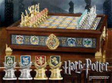 Harry Potter - Bradavice Houses Quidditch Šachy