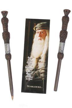 Harry Potter Propiska & Záložka Dumbledore Noble Collection