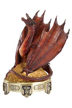 The Hobbit The Desolation of Smaug Incense Burner Smaug 25 cm Noble Collection