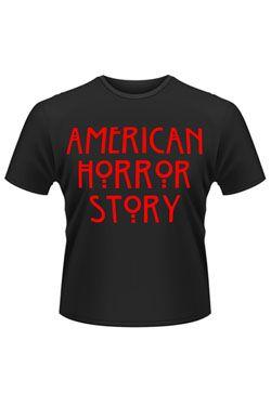 American Horror Story Tričko Logo Velikost M