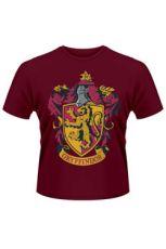 Harry Potter Tričko Nebelvír Crest Velikost S