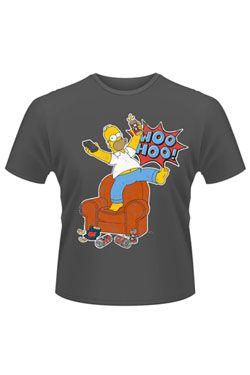 Simpsonovi Tričko Woo Hoo Velikost L