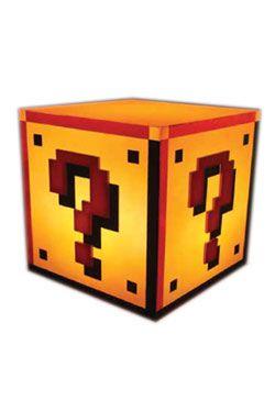 Super Mario Bros. Light Question Block 18 cm