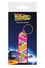 Back to the Future Gumový Přívěsek na klíče Hoverboard 6 cm