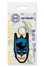 DC Comics Gumový Keychain Batman 6 cm