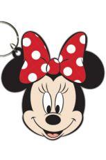 Disney Gumový Přívěsek na klíče Minnie Mouse 6 cm