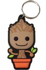 Guardians of the Galaxy Gumový Přívěsek na klíče Baby Groot 6 cm